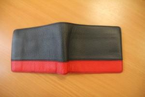 Renowacja skórzanego portfela Hugo Boss