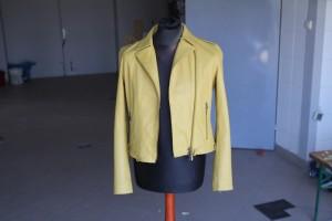 Renowacja skórzanej kurtki
