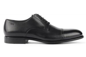 skorzane buty marki hugo boss